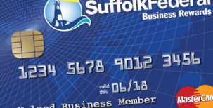 Suffolk Federal Business Rewards credit card