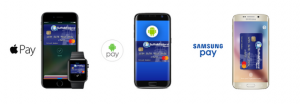 apple pay phone, andriod pay phone, samsung pay phone