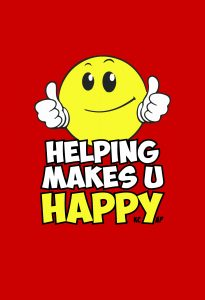 Helping Makes U Happy Logo