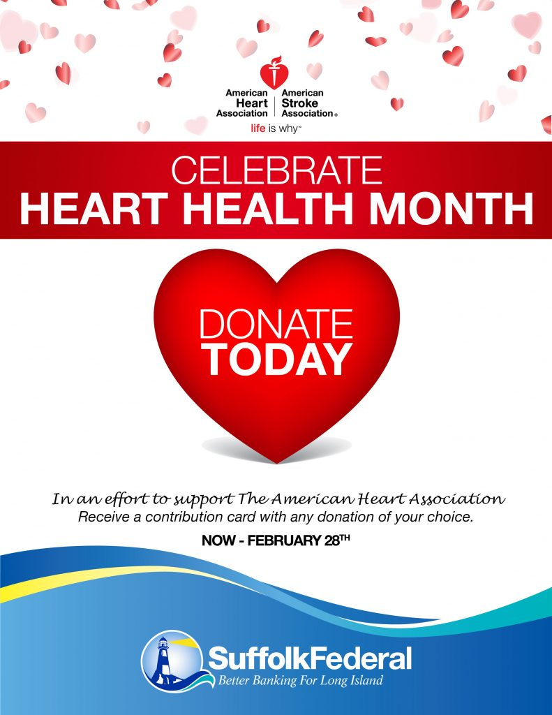 Poster for American Heart Health Month